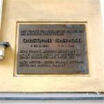 Schöneberg Gedenktafel am Wohnhaus von Christopher Isherwood